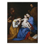 Marriage of St.Catherine by Jusepe de Ribera Poster