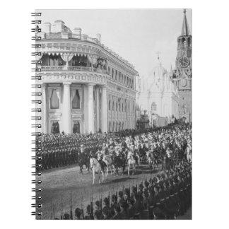 Marriage of Tsar Nicholas (1868-1918) to Alexandra Notebook