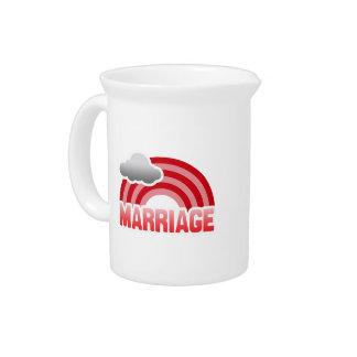 MARRIAGE RAINBOW PITCHER