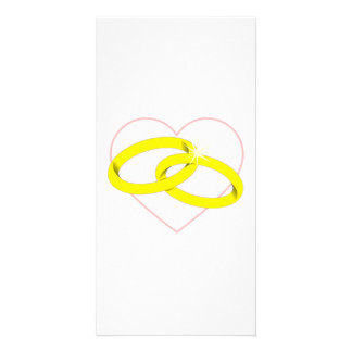 Marriage Rings Photo Card