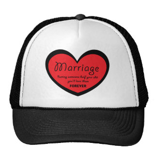 Marriage: The True Meaning Cap