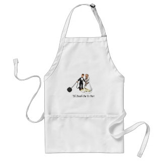 Marriage: 'Til Death Do Us Part Standard Apron