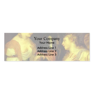 Marriage with Vesta and Hymen by Titian Business Cards