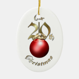 Married 20th Christmas - Ornament