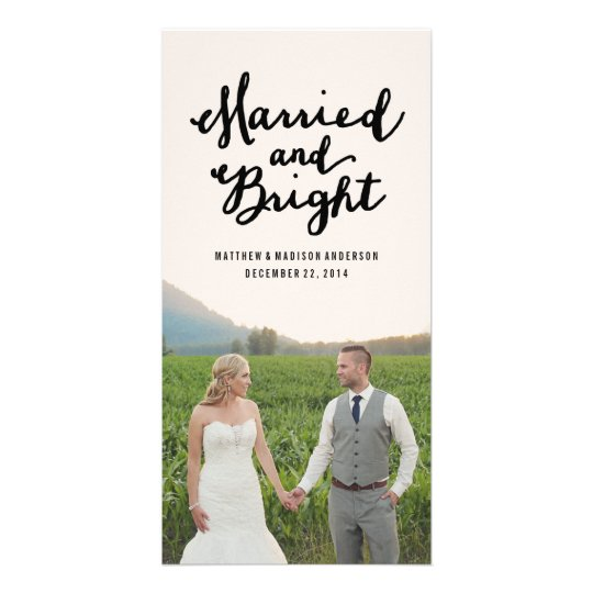 Married & Bright | Holiday Photo Cards