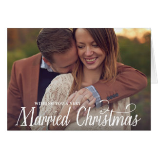 Married Christmas | Folded Holiday Greeting Card