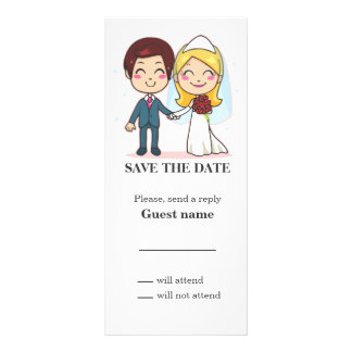 Married Couple Holding Hands Rack Cards