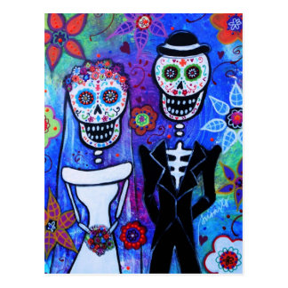 Married Couple Postcard