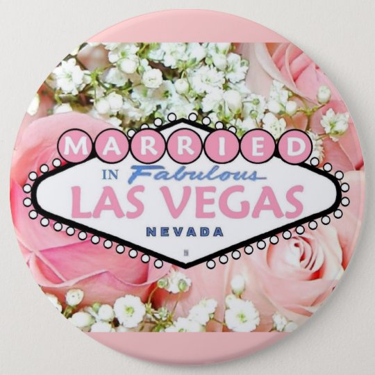 MARRIED In Fabulous Las Vegas Button