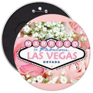 MARRIED In Fabulous Las Vegas Button