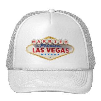 MARRIED In Fabulous LAS VEGAS CAP Mesh Hats