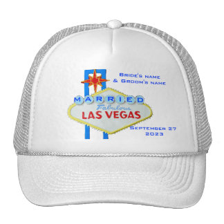 Married in Las Vegas Cap
