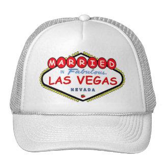 MARRIED In  Las Vegas Cherry logo cap Hat