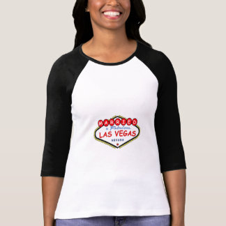 MARRIED In  Las Vegas Ladies 3/4 Sleeve Raglan T-Shirt