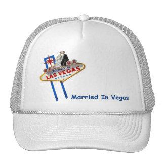 MARRIED In Vegas Cap Trucker Hat