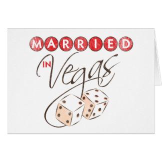 Married in Vegas Card