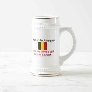Married to a Belgian Beer Stein