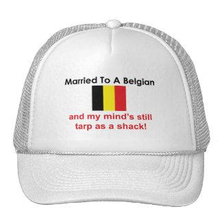 Married to a Belgian Trucker Hat