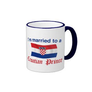 Married to a Croatian Prince Ringer Mug
