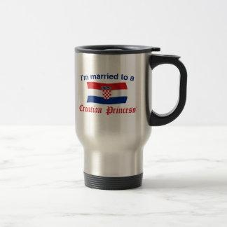 Married to a Croatian Princess Stainless Steel Travel Mug