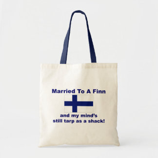Married To A Finn Tote Bag