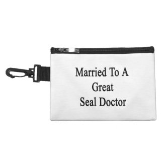 Married To A Great Seal Doctor Accessory Bags