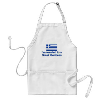 Married to a Greek Goddess Standard Apron