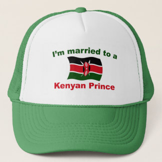 Married To A Kenyan Prince Trucker Hat