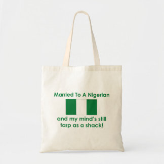 Married to a Nigerian Tote Bags