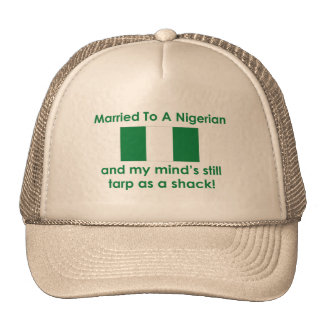 Married to a Nigerian Mesh Hat