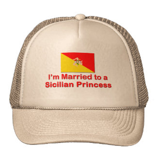 Married to a Sicilian Princess Hat