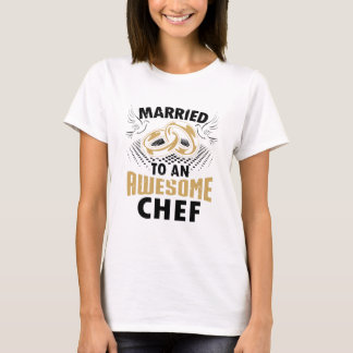Married To An Awesome Chef T-Shirt
