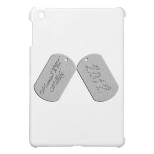 Married to the Military 2012 iPad Mini Cases