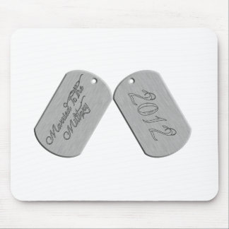 Married to the Military 2012 Mousepads