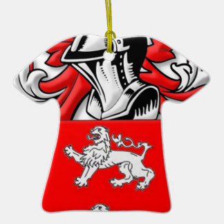 Marrs Coat of Arms Double-Sided T-Shirt Ceramic Christmas Ornament