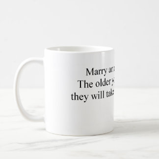 Marry an Archaeologist Coffee Mug