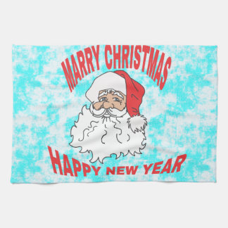 marry christmast kitchen towel