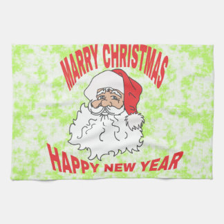 marry christmast kitchen towels