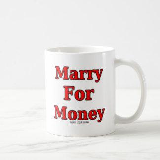 Marry for Money Basic White Mug