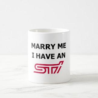 Marry Me I Have An STi Mug