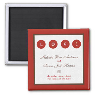 Marry Save the Date Magnet