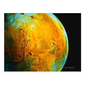 Mars 4 postcard