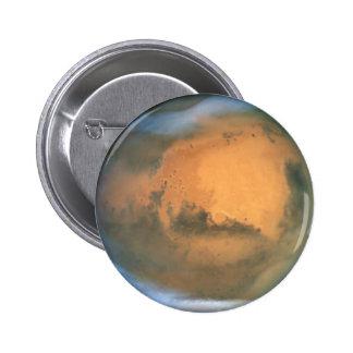 Mars 6 Cm Round Badge