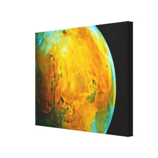 Mars 8 canvas print