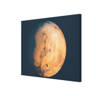 Mars 9 stretched canvas print