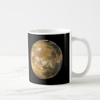 Mars!  A beautiful image from space.  NASA Basic White Mug