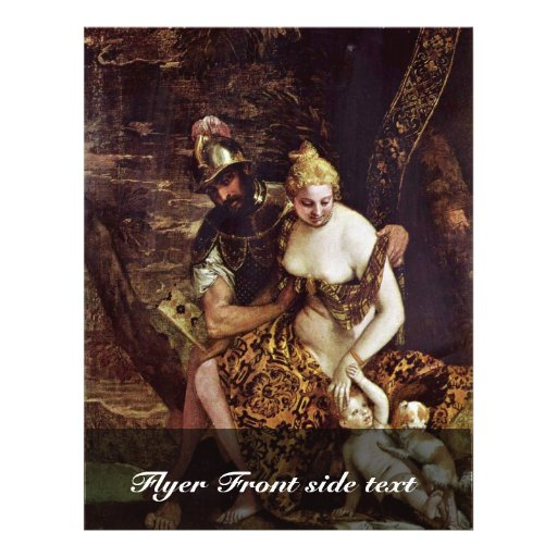 Mars And Venus By Veronese Paolo (Best Quality) Personalized Flyer