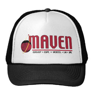 Mars Atmosphere and Volatile EvolutioN (MAVEN) Trucker Hats