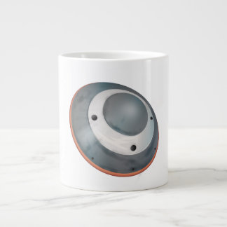 Mars atmospheric entry spacecraft jumbo mug