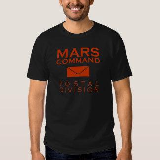 Mars Command Postal Division T-shirts